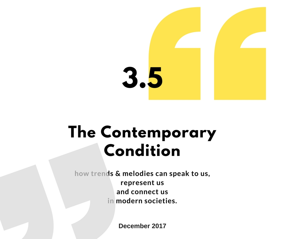 3.5: The Contemporary Conversation