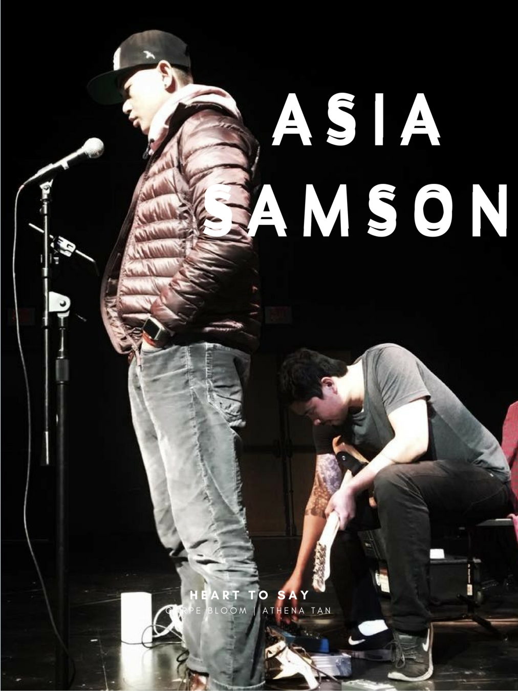 HEART TO SAY WITH ASIA SAMSON