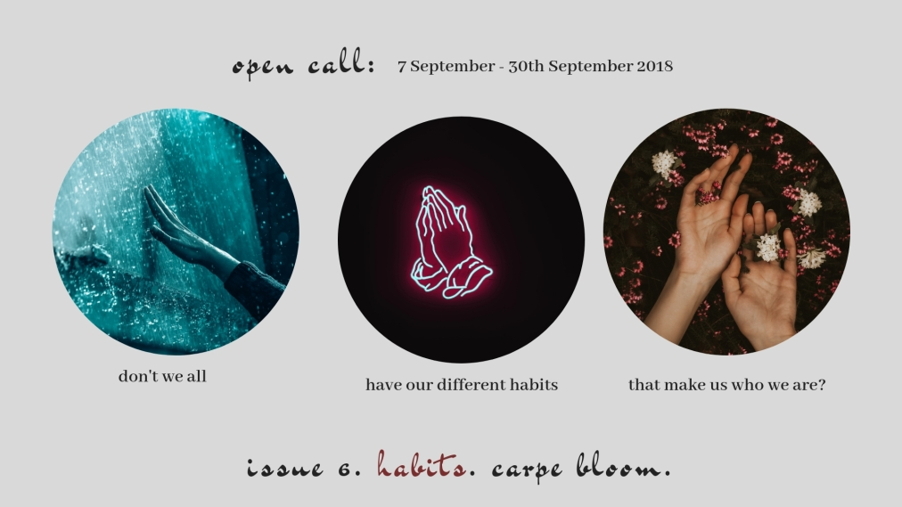 OPEN CALL: ISSUE 6 – HABITS