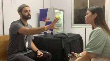 teamCARPE's Aurelli interviewing VIKEN ARMAN